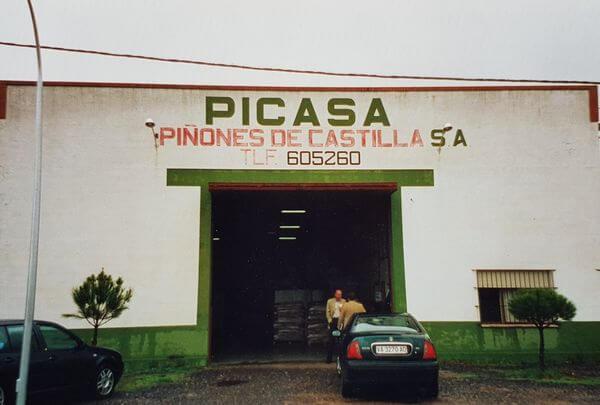 Piñones de Castilla - Vista exterior - Fotografía histórica
